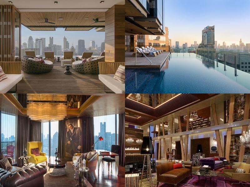 Отели Бангкока с бассейном на крыше - Hotel Indigo Bangkok Wireless Road (4 звезды)