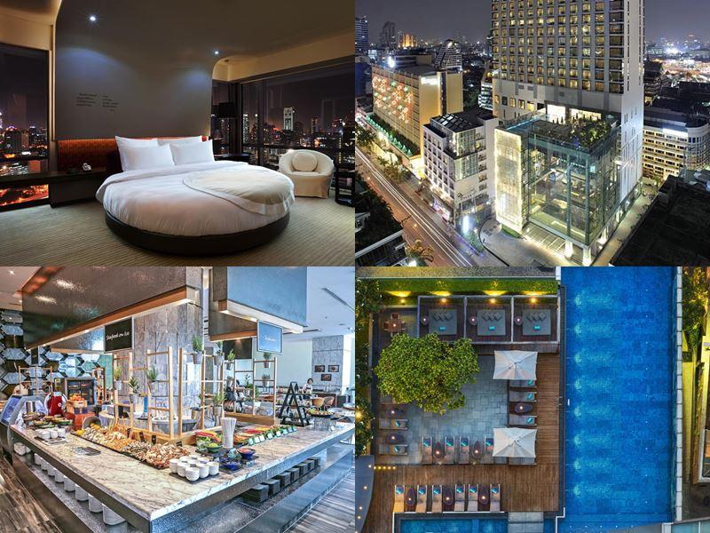 Отели Бангкока с бассейном на крыше - Le Meridien Bangkok (5 звёзд)