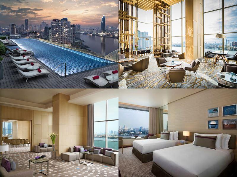 Отели Бангкока с бассейном на крыше - AVANI Riverside Bangkok Hotel (5 звёзд)