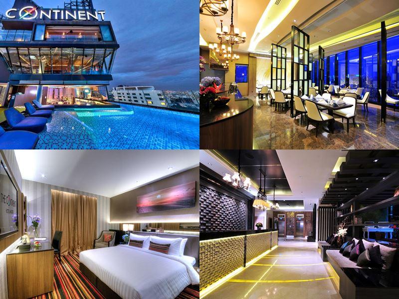 Отели Бангкока с бассейном на крыше - The Continent Hotel Bangkok Sukhumvit (5 звёзд)