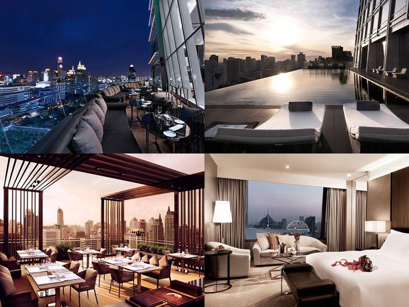 Отели Бангкока с бассейном на крыше - The Okura Prestige Bangkok (5 звёзд)