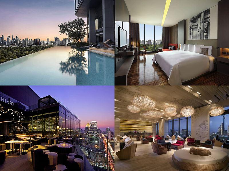 Отели Бангкока с бассейном на крыше - SO Sofitel Bangkok (5 звёзд)