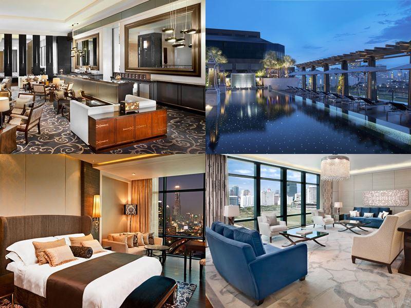 Отели Бангкока с бассейном на крыше - The St. Regis Bangkok (5 звёзд)