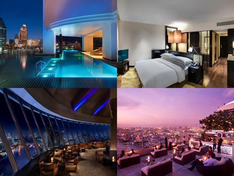 Отели Бангкока с бассейном на крыше - Millennium Hilton Bangkok (5 звёзд)
