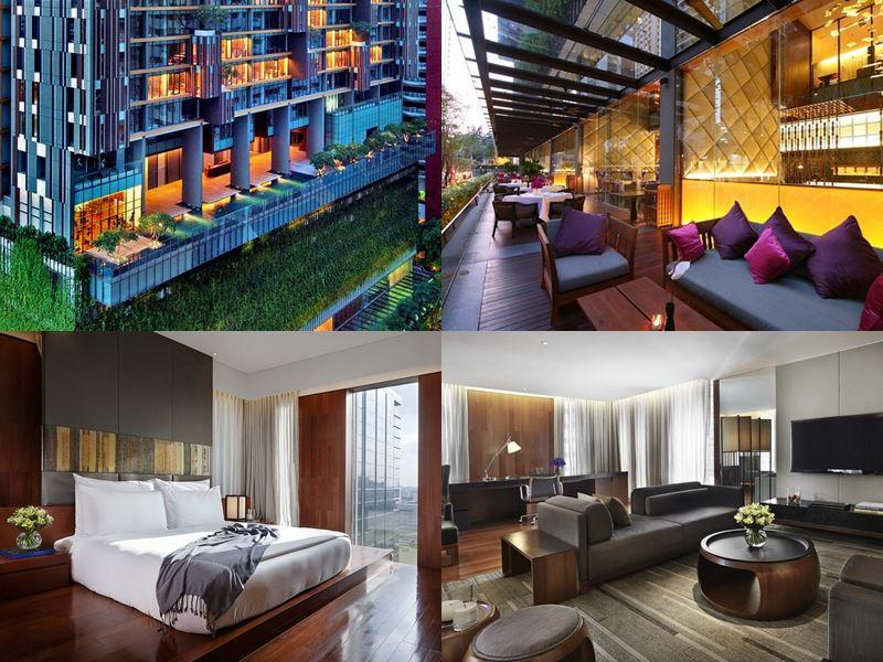 Отели Бангкока с бассейном на крыше - Hansar Hotel (5 звёзд)
