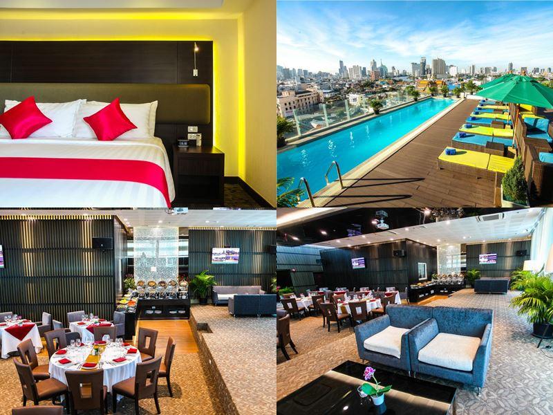 Отели Бангкока с бассейном на крыше - Royal Bangkok@Chinatown (4 звезды)