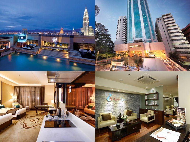 Отели Куала-Лумпур с бассейном на крыше - Pacific Regency Hotel Suites (5 звёзд)
