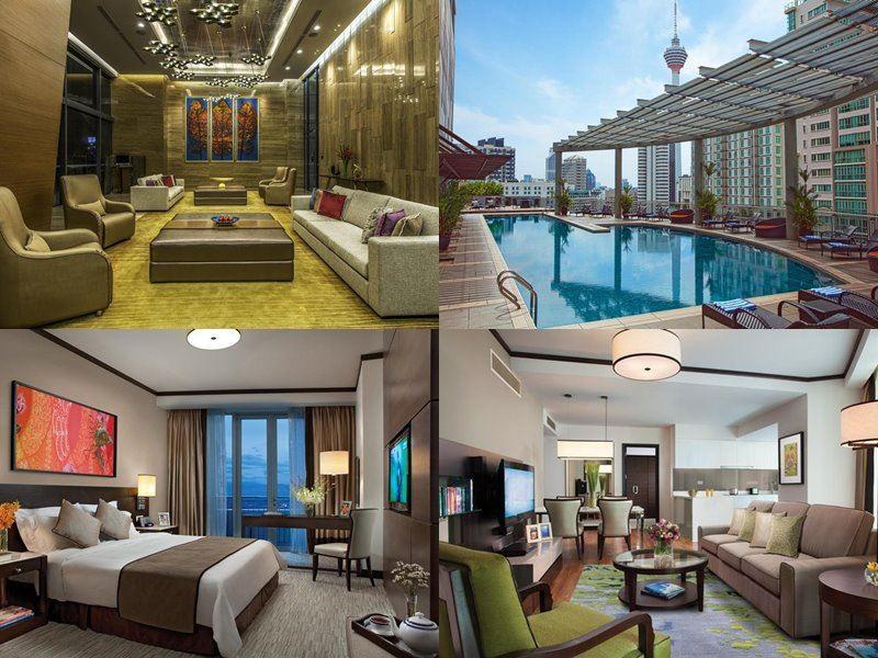 Отели Куала-Лумпур с бассейном на крыше - Ascott Kuala Lumpur (5 звёзд)