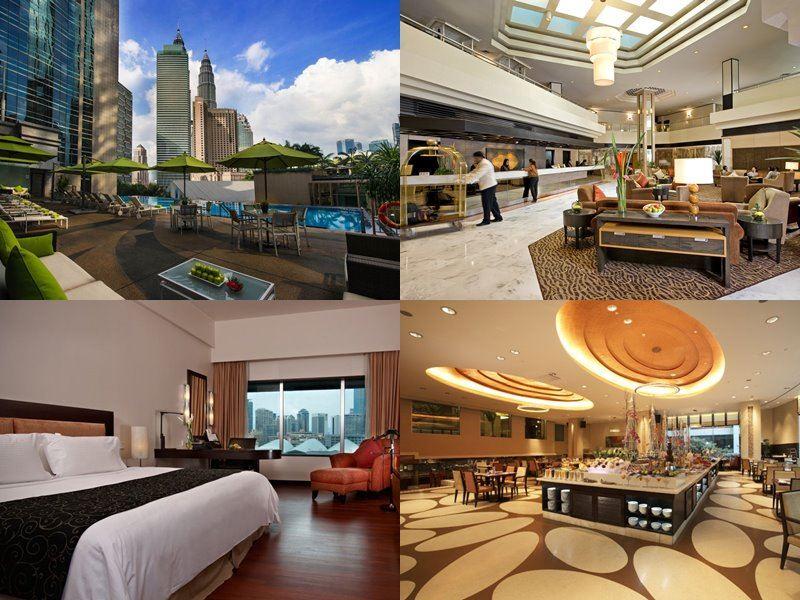Отели Куала-Лумпур с бассейном на крыше - Impiana KLCC Hotel (4 звезды)