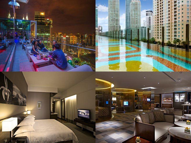 Отели Куала-Лумпур с бассейном на крыше - GTower Hotel (5 звёзд)