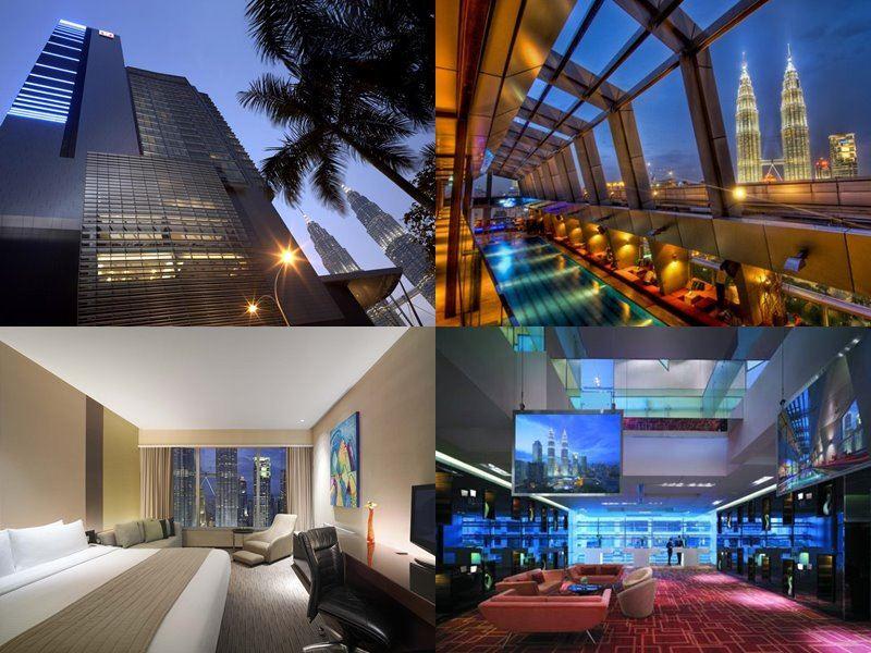 Отели Куала-Лумпур с бассейном на крыше - Traders Hotel Kuala Lumpur (5 звёзд)