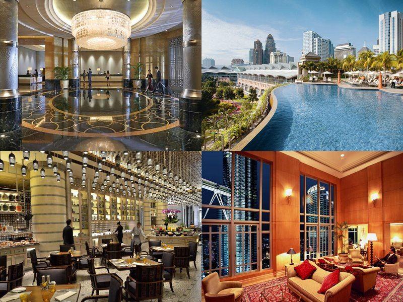 Отели Куала-Лумпур с бассейном на крыше - Mandarin Oriental KL (5 звёзд)