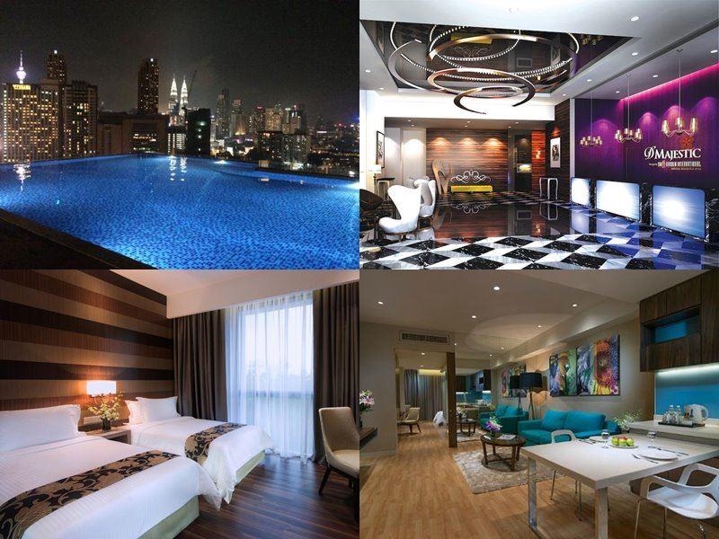 Отели Куала-Лумпур с бассейном на крыше - D'Majestic Place by Swiss Garden (4 звезды)