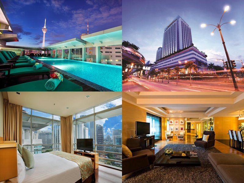 Отели Куала-Лумпур с бассейном на крыше - PARKROYAL Kuala Lumpur (5 звёзд)