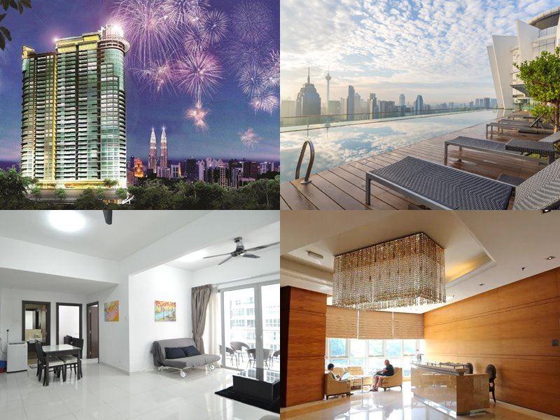 Отели Куала-Лумпур с бассейном на крыше - Regalia Residence (4 звезды)