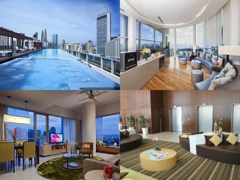 Отели Куала-Лумпур с бассейном на крыше - Somerset Ampang Kuala Lumpur (4 звезды)
