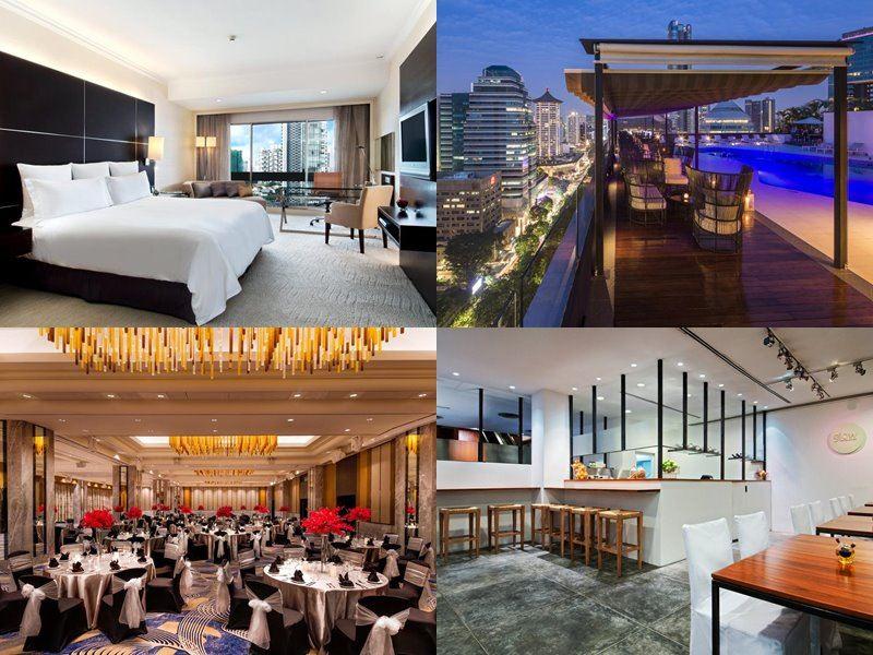 Отели Сингапура с бассейном на крыше - Hilton Singapore (5 звёзд)