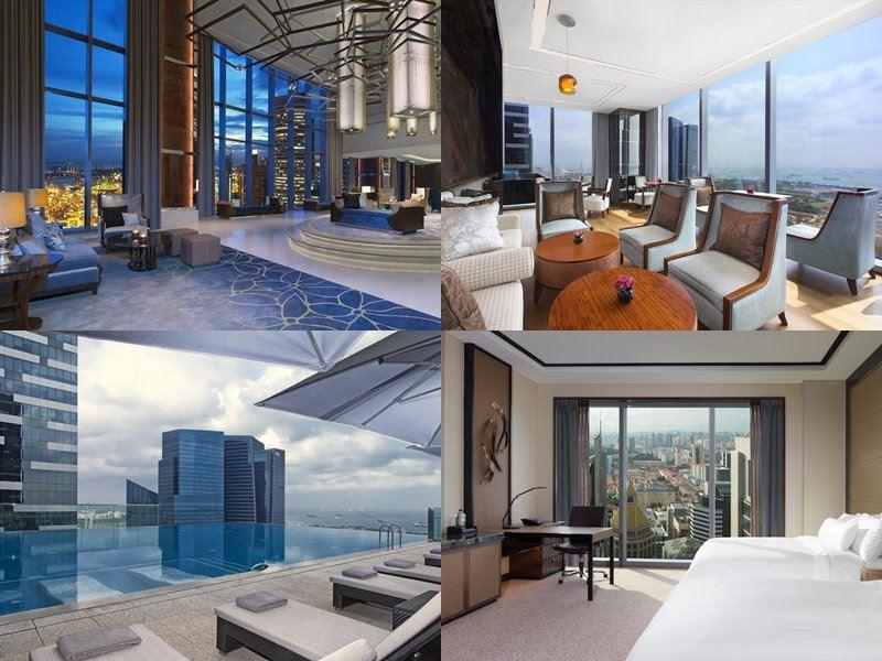 Отели Сингапура с бассейном на крыше - The Westin Singapore (5 звёзд)