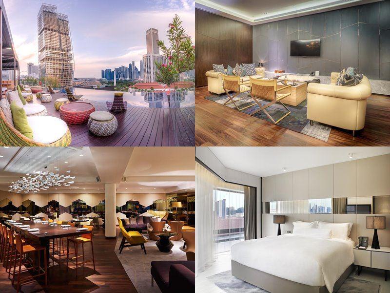 Отели Сингапура с бассейном на крыше - Naumi Hotel (5 звёзд)