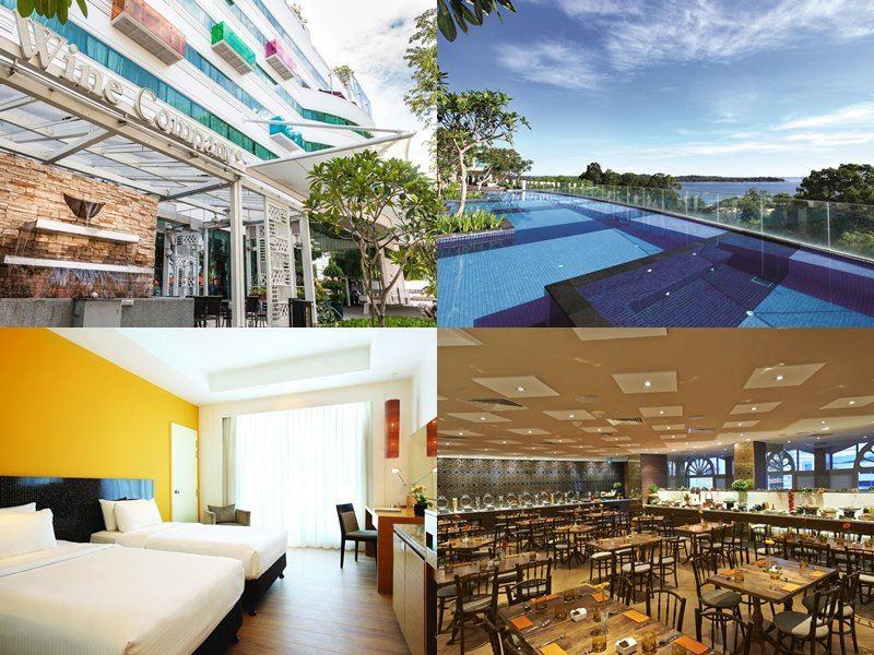 Отели Сингапура с бассейном на крыше - Village Hotel Changi (4 звезды)