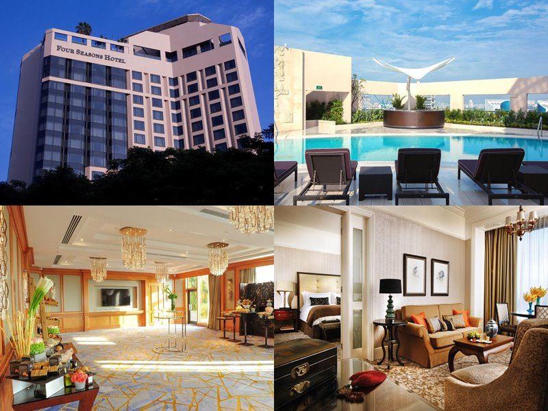 Отели Сингапура с бассейном на крыше - Four Seasons Hotel Singapore (5 звёзд)