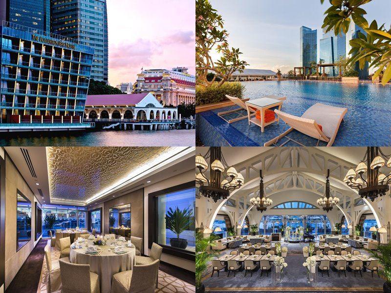 Отели Сингапура с бассейном на крыше - The Fullerton Bay Hotel (5 звёзд)
