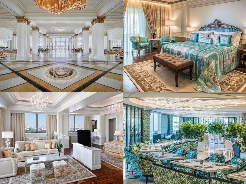 Palazzo Versace Dubai - интерьер номеров