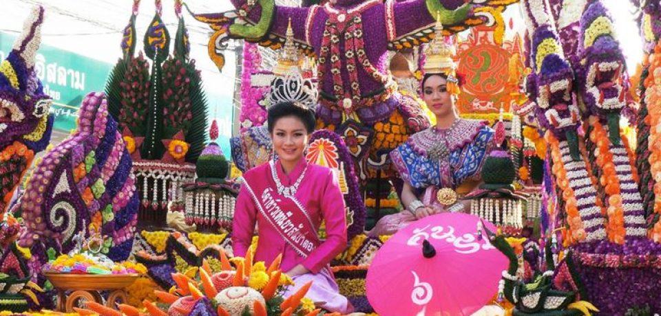 Фестиваль цветов в Чиангмае (2 – 4 февраля 2018)