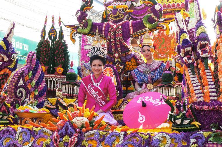 Фестиваль цветов в Чиангмае, Таиланд 2018