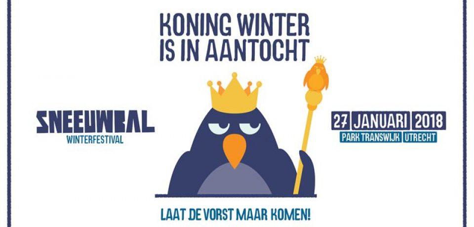 Зимний фестиваль Sneeuwbal в Утрехте (27 января 2018)