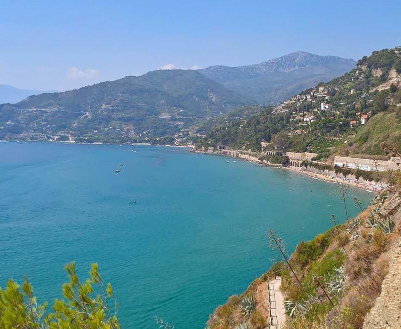 Лигурийское побережье: лучшие пляжи - Calandre в Вентимилье