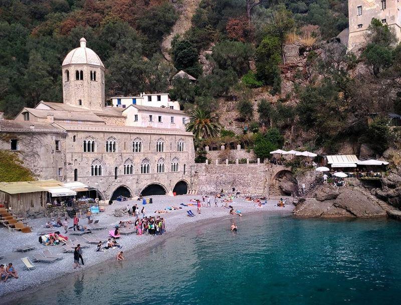 Лигурийское побережье: лучшие пляжи - San Fruttuoso в Камольи
