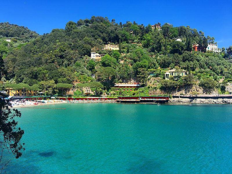 Лигурийское побережье: лучшие пляжи - Paraggi рядом с Портофино