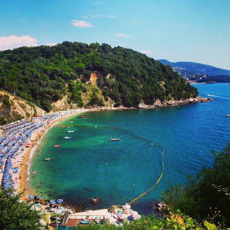 Лигурийское побережье: лучшие пляжи - Baia Blu в Леричи