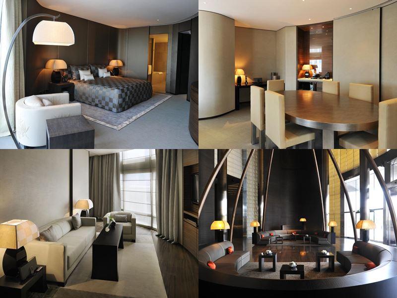 Лучшие дорогие luxury-отели Дубая 2017 - Armani Hotel Dubai