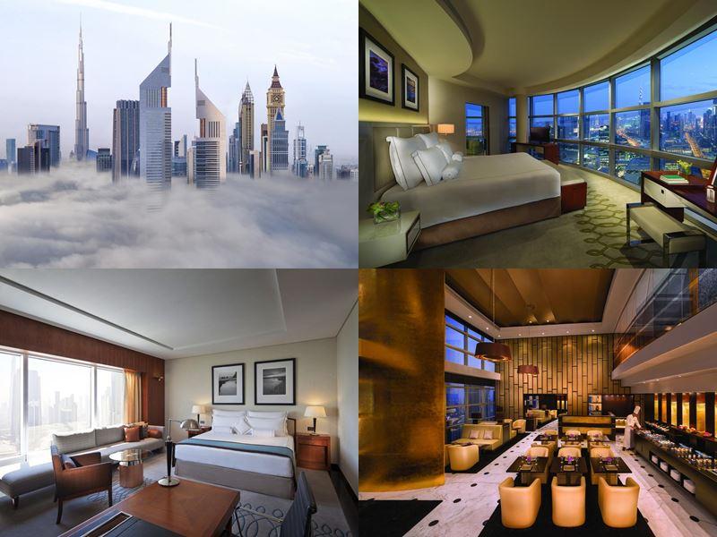 Лучшие дорогие luxury-отели Дубая 2017 - Jumeirah Emirates Towers