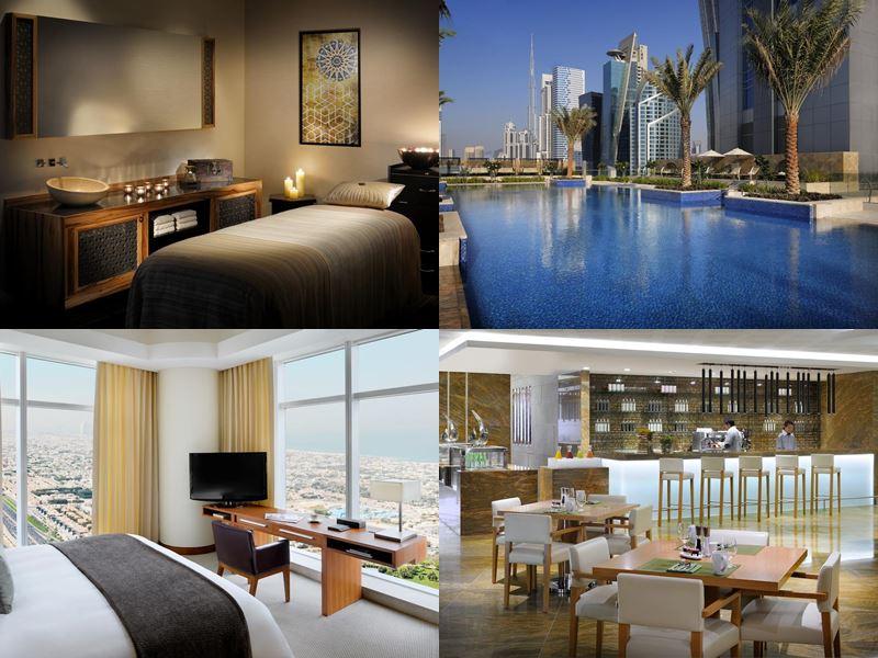 Лучшие дорогие luxury-отели Дубая 2017 - JW Marriott Marquis Dubai