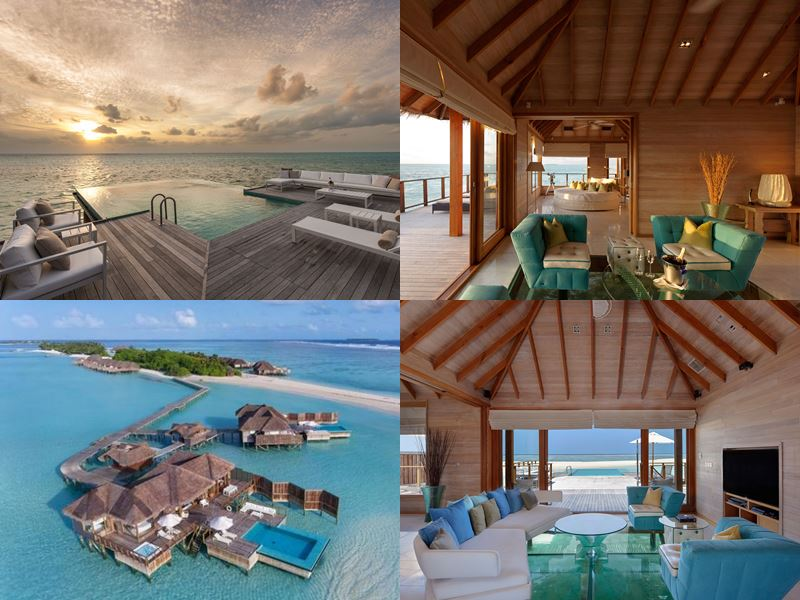 Лучшие виллы на Мальдивах 2017 - Sunset Water Villa курорта Conrad Maldives Rangali Island