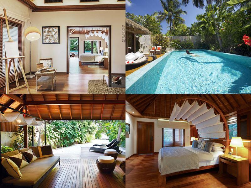 Лучшие виллы на Мальдивах 2017 - Baros Residence курорта Baros Maldives