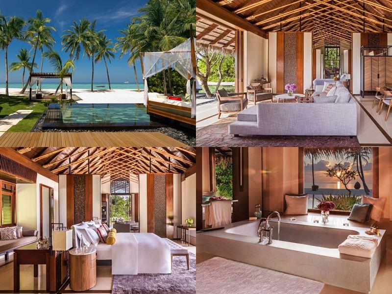 Лучшие виллы на Мальдивах 2017 - Grand Sunset Residence курорта One&Only Reethi Rah