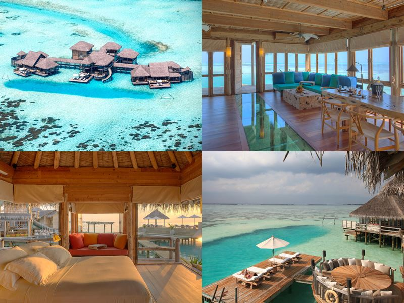 Лучшие виллы на Мальдивах 2017 - The Private Reserve курорта Gili Lankanfushi