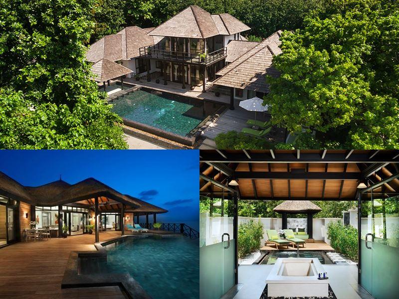 Лучшие виллы на Мальдивах 2017 - Royal Island Suite курорта JA Manafaru