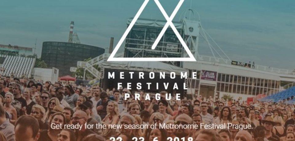 Музыкальный фестиваль Metronome в Праге (22–23 июня 2018)