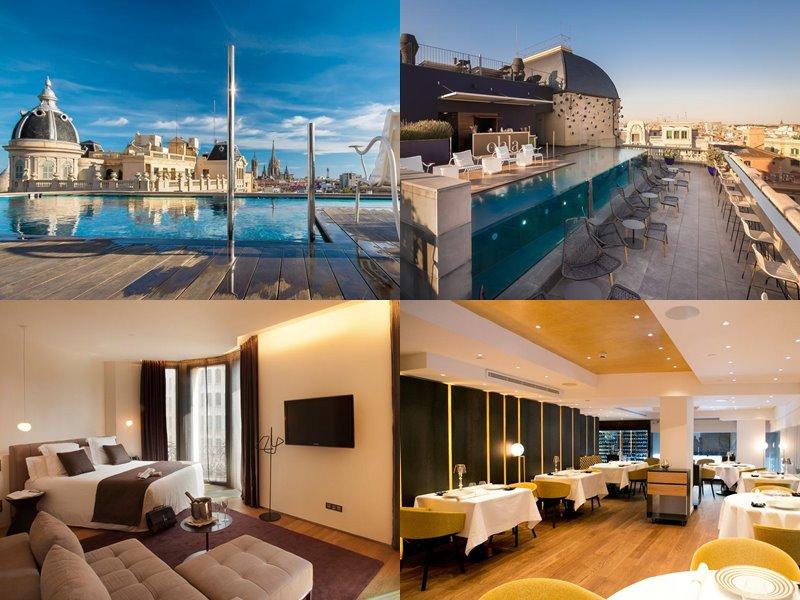Отели Барселоны с бассейном на крыше - Ohla Hotel (5 звёзд)