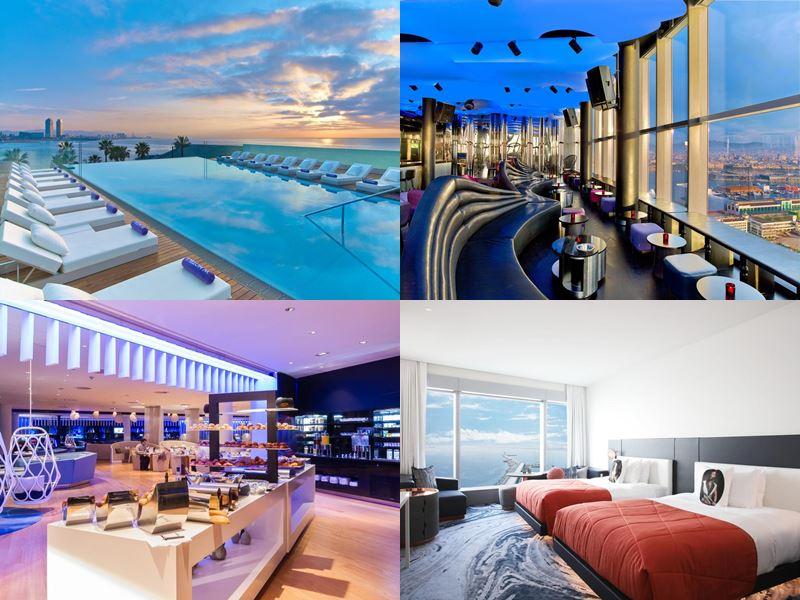 Отели Барселоны с бассейном на крыше - W Barcelona (5 звёзд)