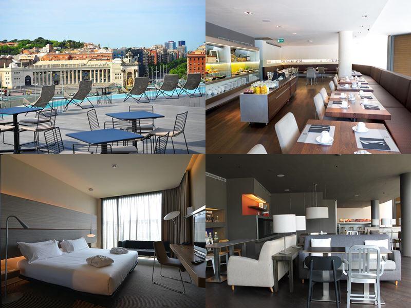 Отели Барселоны с бассейном на крыше - B-Hotel (3 звезды)