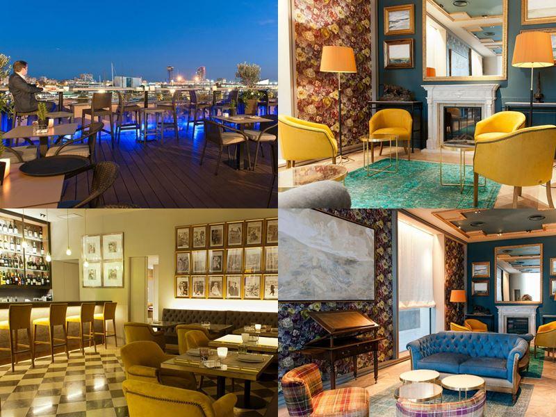 Отели Барселоны с бассейном на крыше - Hotel Duquesa de Cardona (4 звезды)