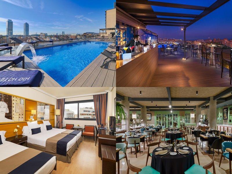 Отели Барселоны с бассейном на крыше - H10 Marina Barcelona (4 звезды)
