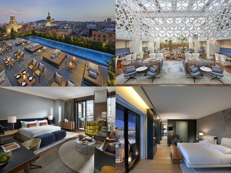 Отели Барселоны с бассейном на крыше - Mandarin Oriental (5 звёзд)