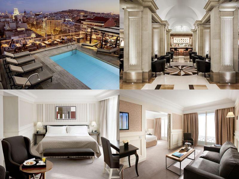 Отели Барселоны с бассейном на крыше - Majestic Hotel & Spa (5 звёзд)